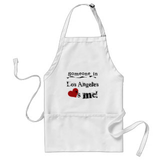 Someone in Los Angeles Aprons