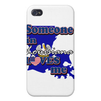 Someone in Louisiana loves me iPhone 4 Cases
