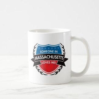 Someone In Massachusetts Loves Me Coffee Mug