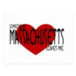 Someone in Massachusetts Loves Me Post Cards