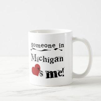 Someone In Michigan Loves Me Mug