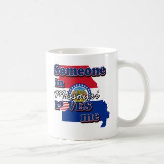 Someone in Missouri loves me Classic White Coffee Mug