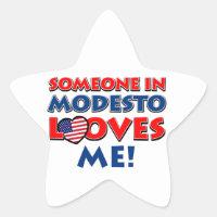Someone in Modesto loves me