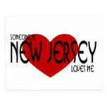 Someone in New Jersey Loves Me Postcard
