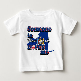 Someone in New York loves me Baby T-Shirt