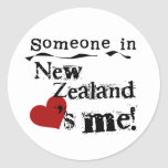 Someone In New Zealand Loves Me Sticker