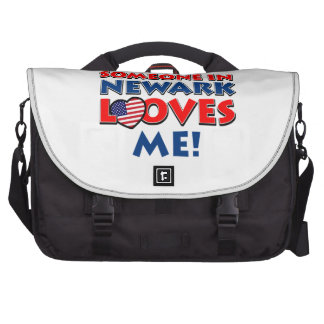 Someone in newark loves me bags for laptop