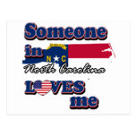 Someone in North Carolina loves me Postcards