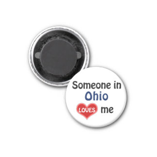 Someone in Ohio loves me Magnet