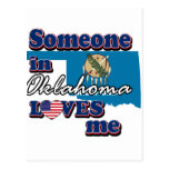 Someone in Oklahoma loves me Postcards