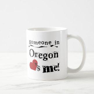 Someone In Oregon Loves Me Mugs