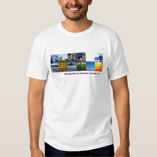 Someone in oregon loves me T-Shirt