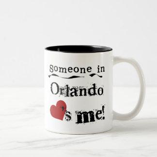 Someone in Orlando Mug