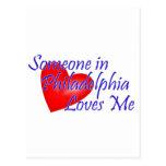 Someone in Philadelphia Loves Me Post Cards