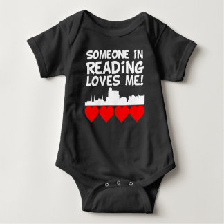 Someone In Reading Pennsylvania Loves Me Baby Bodysuit