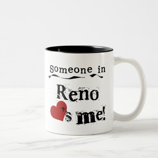 Someone in Reno Two-Tone Coffee Mug