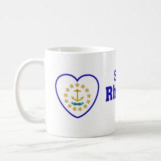 Someone In Rhode Island Loves Me Coffee Mugs