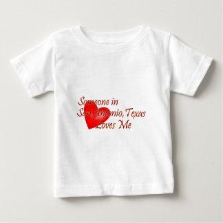 Someone in San Antonio Texas Loves Me Baby T-Shirt