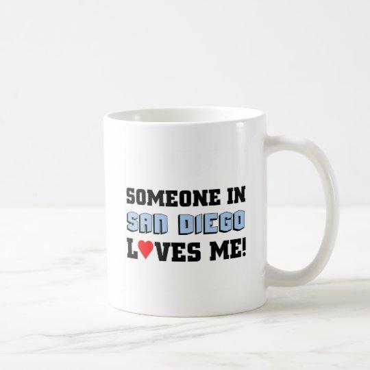 Someone in San Diego Loves me Coffee Mug