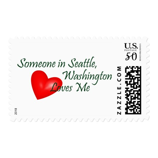 Someone In Seattle Loves Me Postage