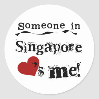 Someone In Singapore Loves Me Stickers