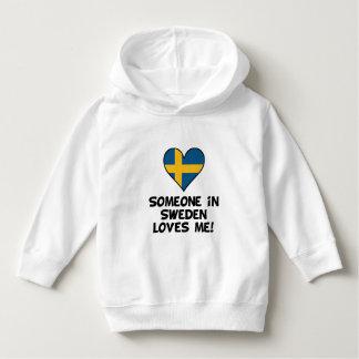 Someone In Sweden Loves Me Hoodie