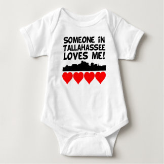Someone In Tallahassee Florida Loves Me Baby Bodysuit