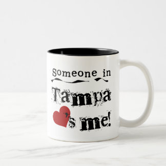 Someone in Tampa Two-Tone Coffee Mug