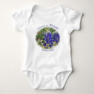 Someone in Texas Loves Me Gift Baby Bodysuit