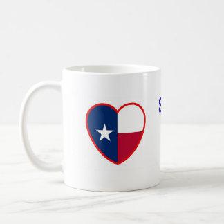 Someone In Texas Loves Me Classic White Coffee Mug