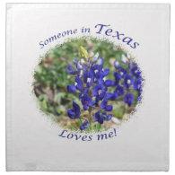 Someone in Texas Loves Me Napkins