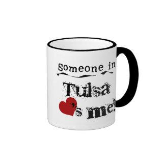 Someone in Tulsa Coffee Mugs