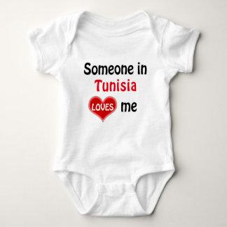 Someone in Tunisia loves me Baby Bodysuit