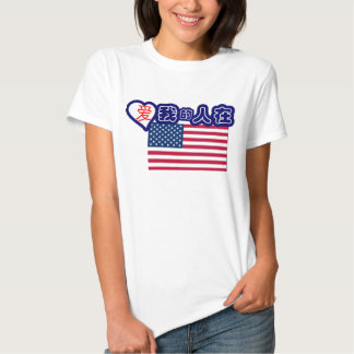 Someone in USA loves me! (Chinese symbols) T Shirt