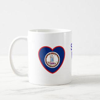 Someone In Virginia Loves Me Classic White Coffee Mug