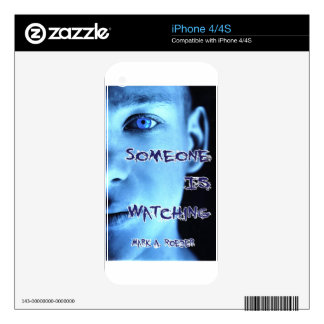 Someone Is Watching Decal For iPhone 4