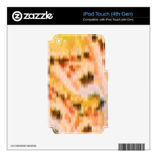 Someone left the cake out in the rain iPod touch 4G skins