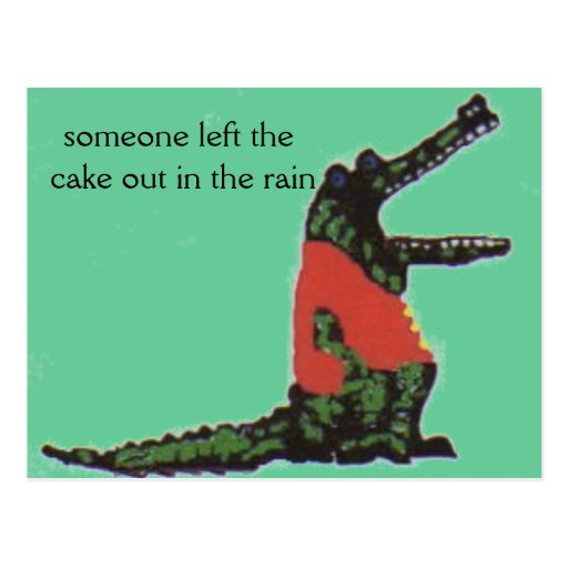 Cake Out In The Rain Song
