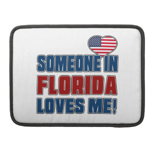 SOMEONE LOVES ME IN FLORIDA SLEEVE FOR MacBooks