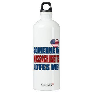 SOMEONE LOVES ME IN MASSACHUSETTS SIGG TRAVELER 1.0L WATER BOTTLE
