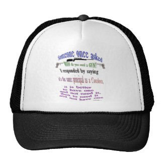 someone once asked trucker hat