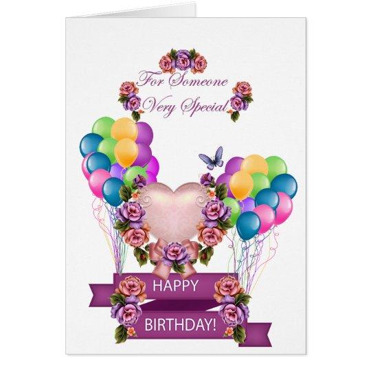 Someone Special Birthday Card Zazzle