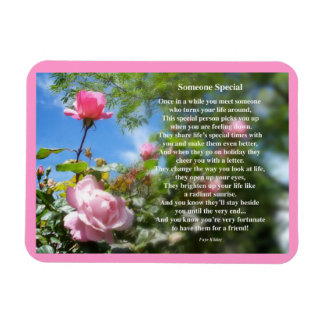 Someone Special Friendship Poem Rectangle Magnet