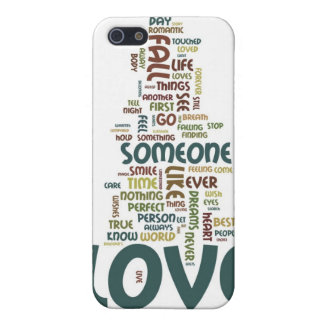 Someone to Love Word Cloud Covers For iPhone 5