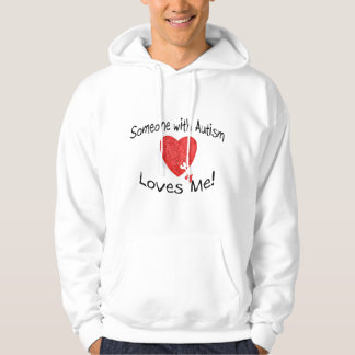 Someone With Autism Loves Me (Hrt Puzzle) Hoodie