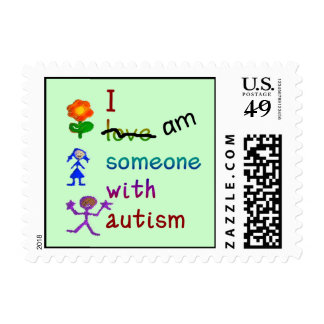 Someone With Autism Stamps