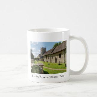 Somerford Keynes All Saints Classic White Coffee Mug
