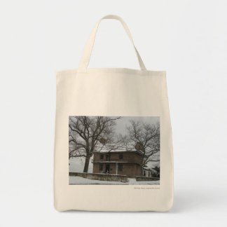 Somers Mansion Grocery Tote Bag