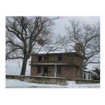 Somers Mansion Postcard