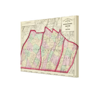 Somerset, Bedford, condados de Fulton Impresiones En Lona